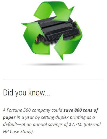 HP Save Paper